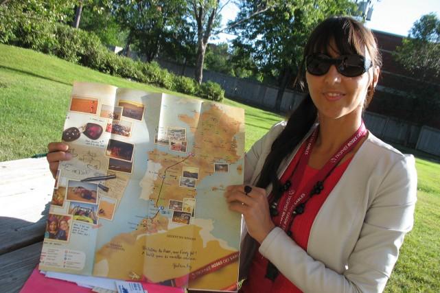 Myriam Tremblay passera plusieurs jours dans le désert,... (Photo Le Progrès-Dimanche, Katerine Belley Murray)