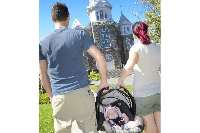 C'est au Saguenay-Lac-Saint-Jean que la proportion des naissances hors mariage... (Photo Le Progrès-Dimanche, Gimmy Desbiens)