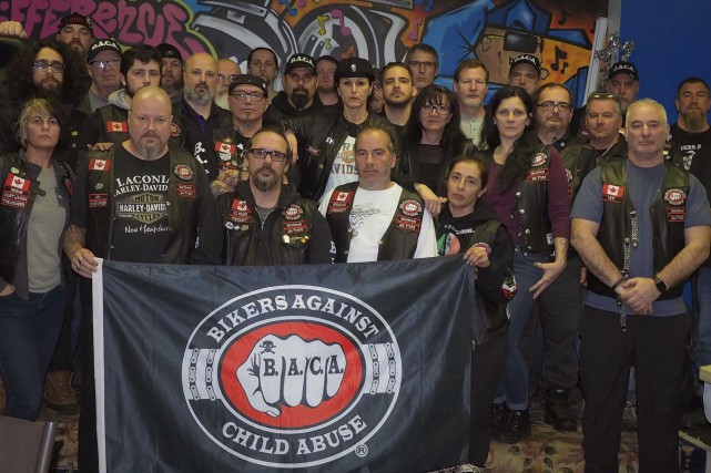 Les motards Bikers against child abuse (BACA) ne... (Fournie par CC Rider)