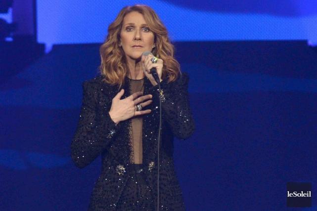 Céline Dion lors de son spectacle du 20... (Photothèque Le Soleil, Yan Doublet)