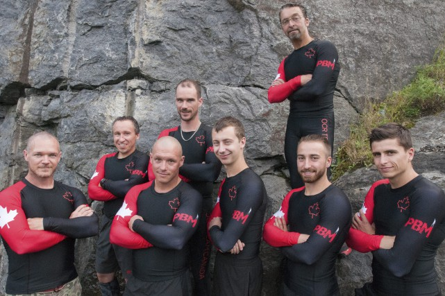 Vincent Larochelle, Jean-Claude Duguay, Fabien Côté, Olivier-Samuel Doré,... (Photo Le Progrès-Dimanche, Michel Tremblay)
