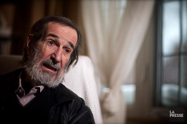 André Melançon est décédé mardi à l'âge de... (PHOTO ANDRÉ PICHETTE, ARCHIVES LA PRESSE)