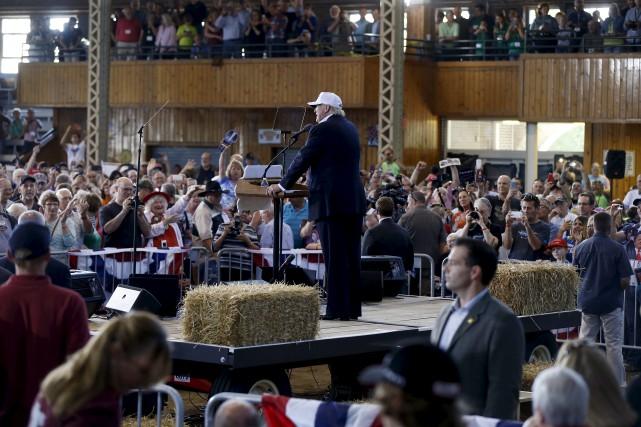 Dans les derniers jours, Donald Trump a laissé... (AP)