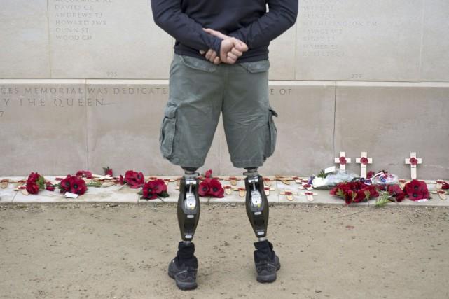 Les vétérans itinérants doivent avoir un accès immédiat... (AFP, Oli Scarff)