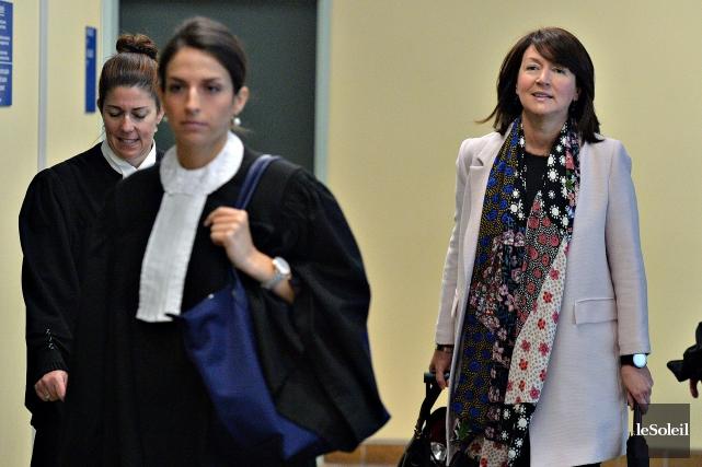 Accusée notamment de corruption avec six autres personnes... (PHoto archives Le Soleil)