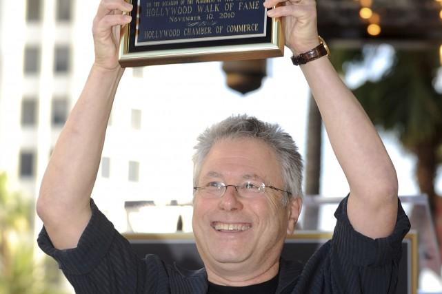Le compositeur Alan Menken a été honoré en... (Archives AFP, Gabriel Bouys)