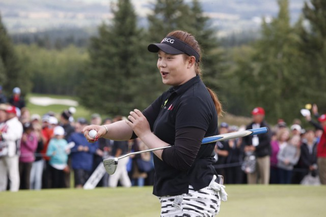Ariya Jutanugarn... (PHOTO Jeff McIntosh, PC)