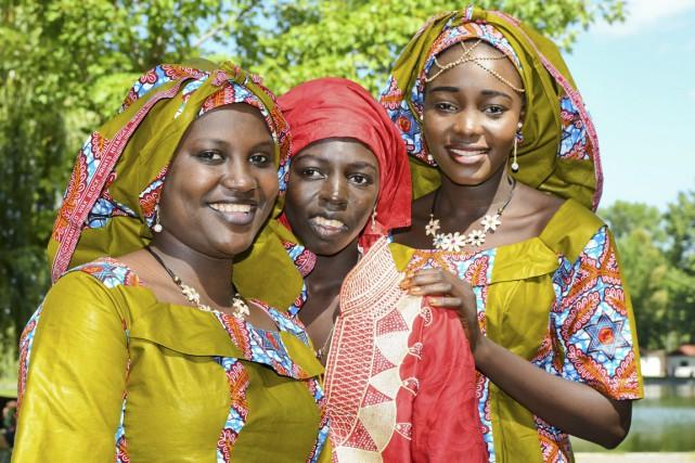 Mariam Mahamt, Siham Saleh et Fatna Salha du... (Andréanne Lemire)