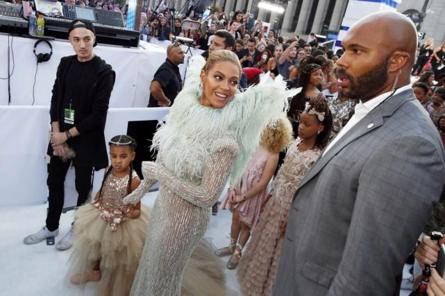 Beyoncé est la favorite de la soirée avec... (PHOTO LUCAS JACKSON, REUTERS)