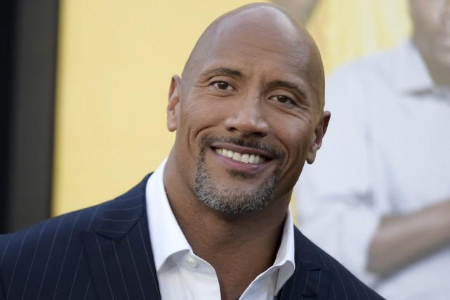 «The Rock» est l'acteur le mieux payéavec un... (AP, Richard Shotwell)