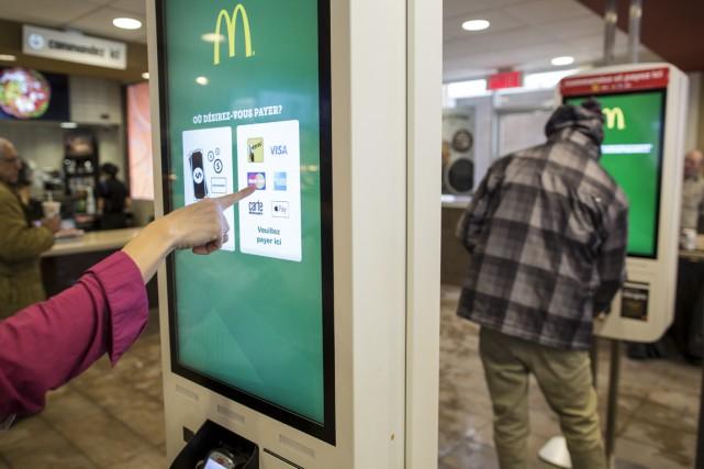 L'entreprise McDonald's, visiblement menacée par le mouvement proposant... (La Presse)