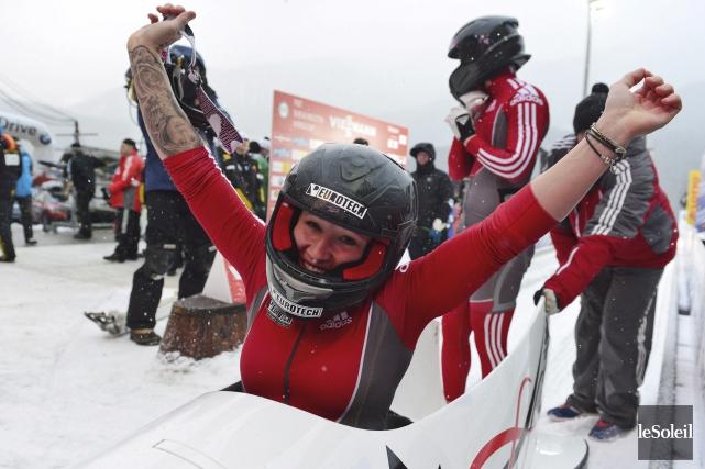Les succès de la double médaillée d'or olympique... (Photothèque Le Soleil)