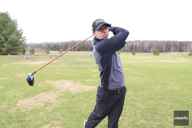 «J'ai joué du golf inspiré cette semaine. C'est... (Archives La Voix de l'Est)