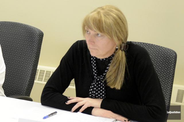 Brigitte Gagné, présidente de laCommission scolaire du Pays-des-Bleuets.... (Archives Le Quotidien)