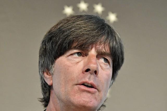 Le sélectionneur de l'Allemagne, Joachim Löw.... (Photo Martin Meissner, AP)