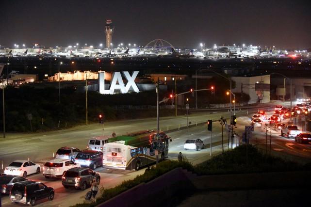 L'aéroport de Los Angeles, deuxième ville la plus... (photo Bob Riha Jr, REUTERS)