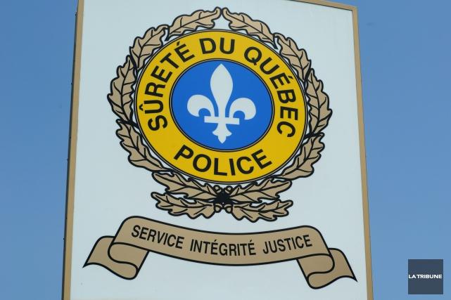 Le poste de la Sûreté du Québec (SQ) du Val-Saint-François pliera bagage et... (Archives La Tribune)
