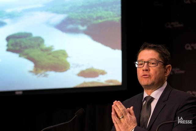 Éric Martel,président-directeur général d'Hydro-Québec, photographié en février 2016.... (PHOTO FRANCOIS ROY, ARCHIVES LA PRESSE)