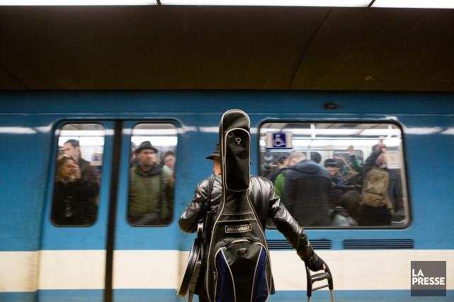 Environ 150 à 200musiciens se produiraient dans le métro chaque jour. Il y a... (Photo Ninon Pednault, La Presse)