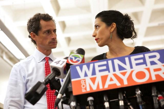 En juillet 2013, Anthony Weiner avait admis, sa... (photo Eric Thayer, archives REUTERS)