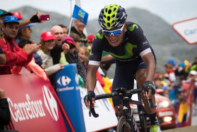 Nairo Quintana... (Photo Jaime Reina, AFP)