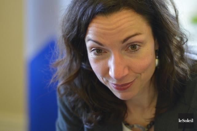 Martine Ouellet... (Photothèque Le Soleil, Yan Doublet)