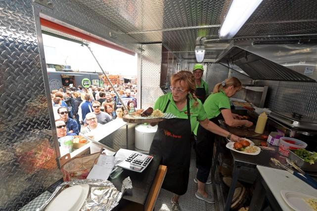 La consultation sur la cuisine de rue à Québec est lancée et culminera vers une... (Photothèque Le Soleil, Erick Labbé)