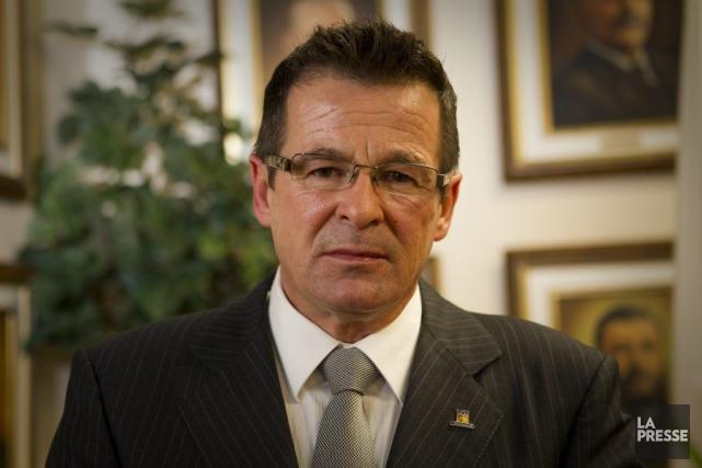 Jean-Marc Robitaille, maire de Terrebonne.... (Photo André Pichette, La Presse)