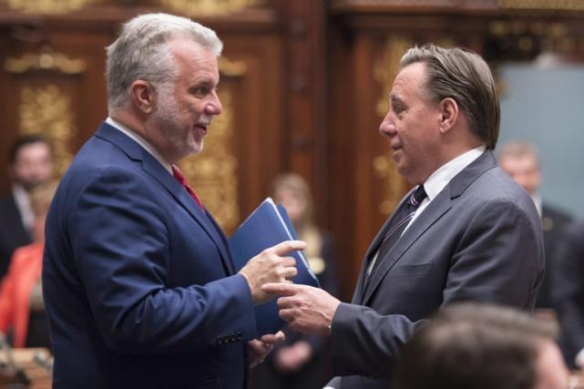 «Le discours de M.Legault est malheureux. Ça nuit... (Photo La Presse Canadienne)