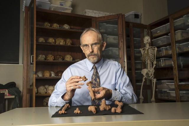 L'anthropologue John Kappelmana analysé de près différentes fractures... (AFP)