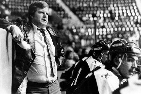 Ron Racette, à l'époque où il était entraîneur... (Archives Le Soleil)