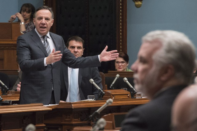 François Legault.... (Photo La Presse Canadienne)