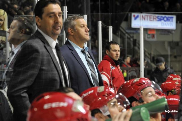 L'ex-entraîneur-chef des River Kings, Bob Desjardins s'est exprimé... (Archives Le Quotidien, Rocket Lavoie)