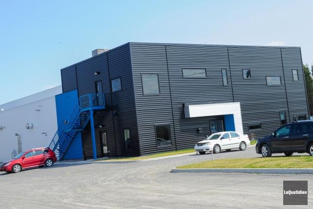L'usine d'extrusion située dans le parc industriel d'Alma... (Archives Le Quotidien, Gimmy Desbiens)