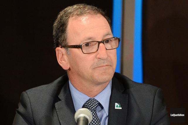 Richard Hébert, maire de Dolbeau-Mistassini... (Archives Le Quotidien, Jeannot Lévesque)