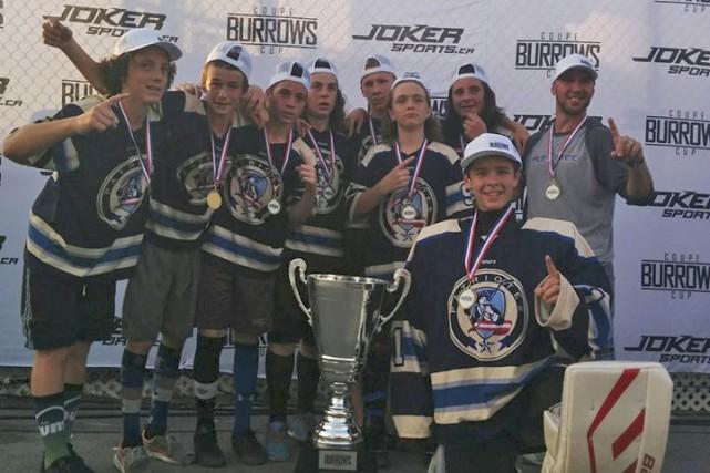 Les Patriotes, un club local de dek hockey,compte... (Fournie)
