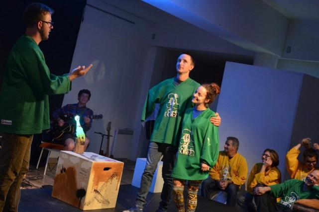 La reprise des activités de la Ligue d'improvisation... (Photo courtoisie)