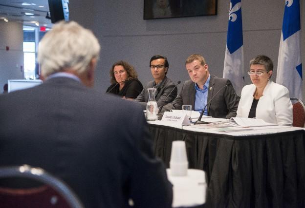Le député de Sherbrooke et ministre de la... (Spectre Média, Frédéric Côté)