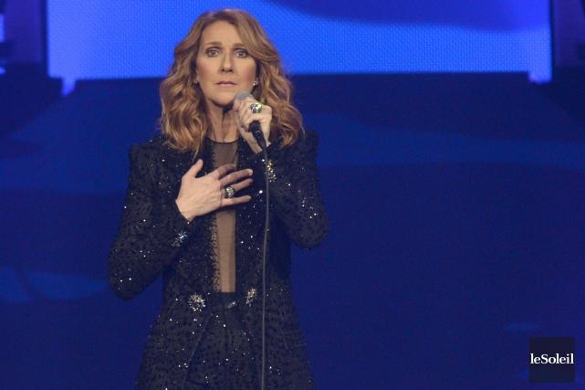 Céline Dion au Centre Vidéotron... (Archives Le Soleil)