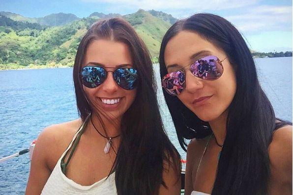 Melina Roberge et Isabelle Lagacé voyageaient ensemble et... (PHOTO TIRÉE DU COMPTE INSTAGRAM DE MELINA ROBERGE)