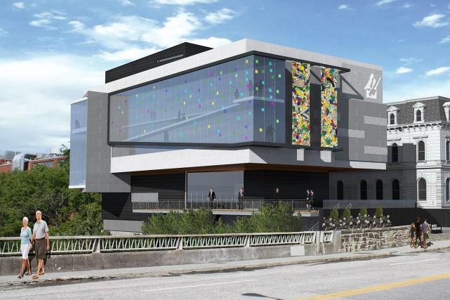 Les croquis du Musée des beaux-arts de Sherbrooke...