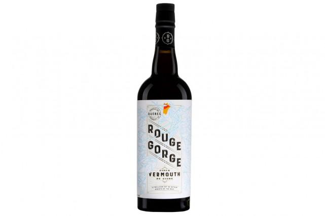 Domaine Lafrance Rouge Gorge Vermouth de cidre... (PHOTO FOURNIE PAR LA SAQ)