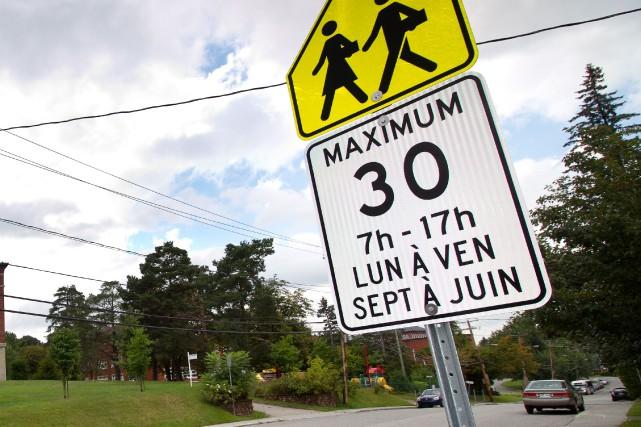 La rentrée scolaire amène son lot de rappels aux automobilistes et cette année... (Spectre Média, René Marquis)