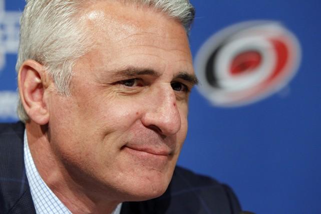 Le directeur général des Hurricanes de la Caroline,... (Photo archives AP)