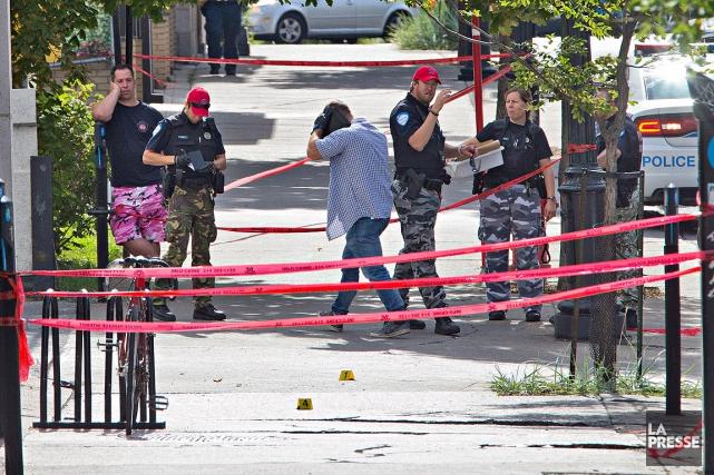 Le motif de l'agression n'est pas encore connu.... (PHOTO PATRICK SANFACON LA PRESSE)
