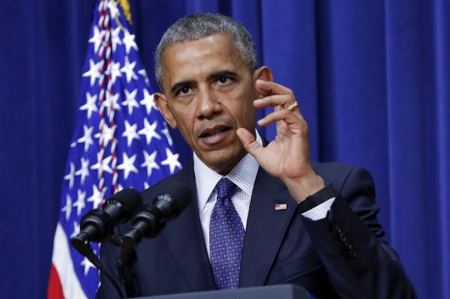 L'amorce d'une reconversion? Barack Obama deviendra en novembre, pour un numéro... (PHOTO ARCHIVES AP)