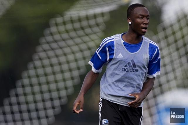 Ballou Jean-Yves Tablaa inscrit cinq buts et obtenu... (Olivier Jean, archives La Presse)