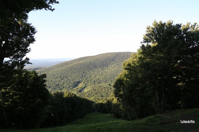 Le mont Sutton... (Julie Catudal, archives La Voix de l'Est)