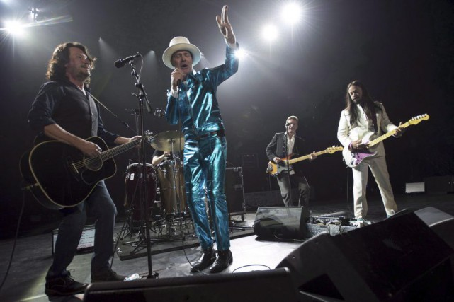 Le leader Gord Downie a révélé plus tôt... (La Presse Canadienne)