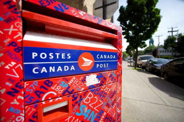 Postes Canada et le Syndicat des travailleurs et des travailleuses des postes... (Sarah Mongeau-Birkett, Archives La Presse)